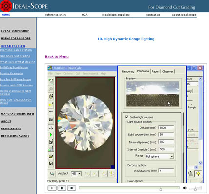 OctoNus Products : 3DCalc : DiamCalc